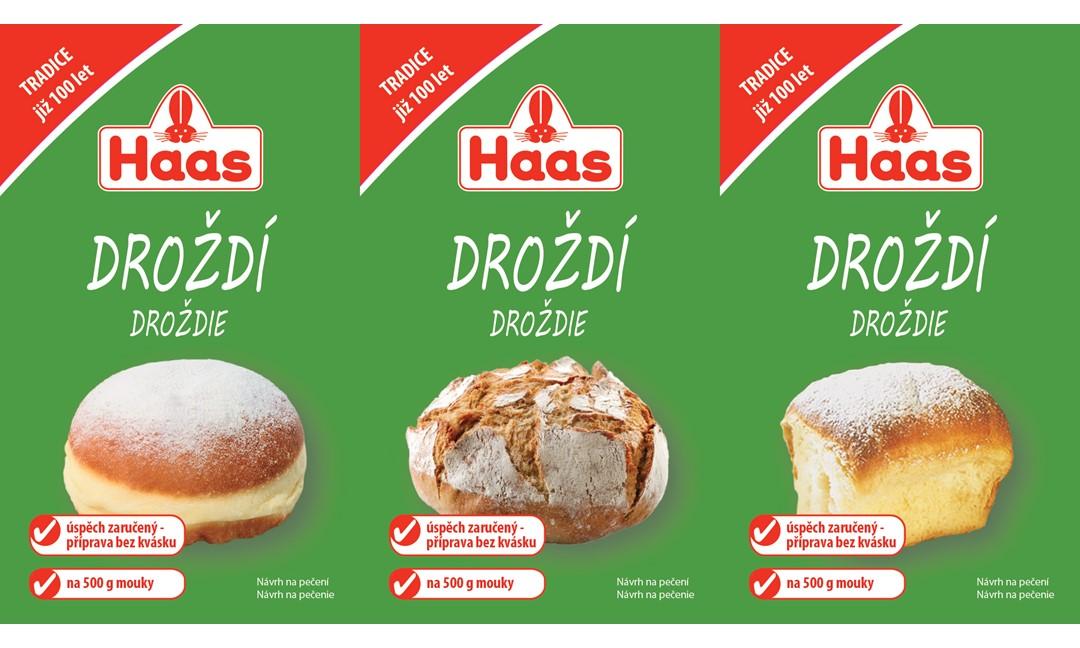 Nový výrobek HAAS Droždí